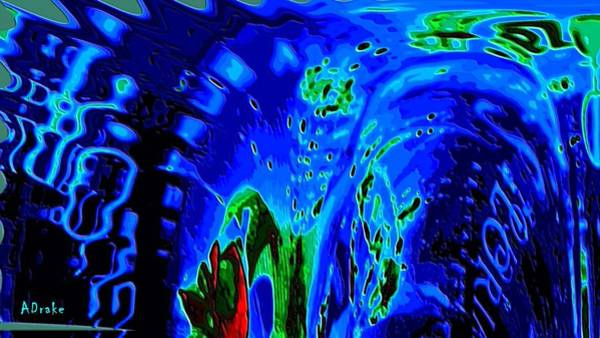 Digital Art - Dream Surf by Alec Drake