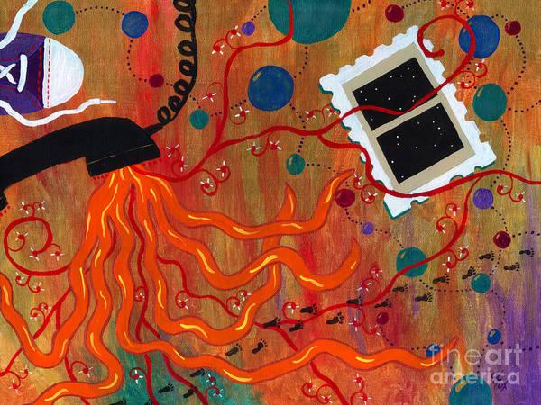 Painting - Dream Tracks by Kristen Fox