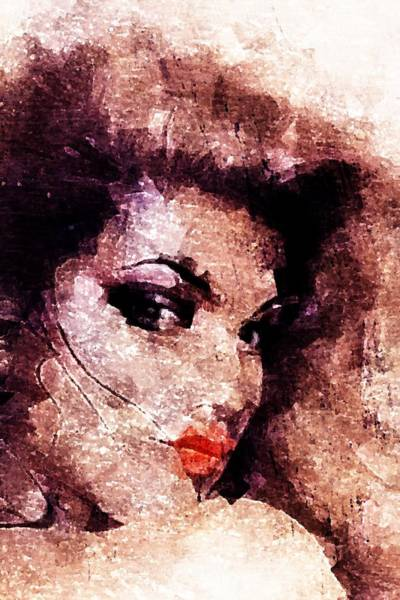 Wall Art - Digital Art - Dreamgirl by Andrea Barbieri