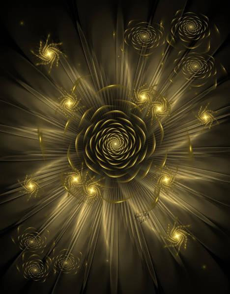 Dreaming Of Gold Art Print