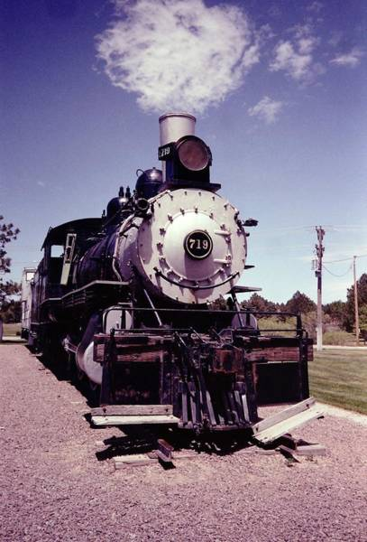 Photograph - Dreaming Of Steam by HW Kateley