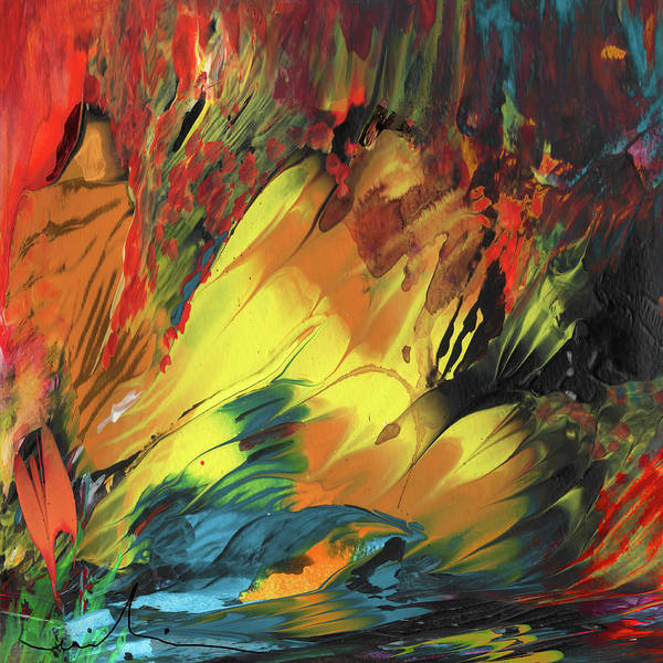 Painting - Dreaming Of Tahiti by Miki De Goodaboom