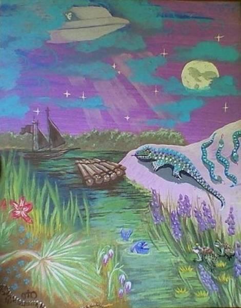 Pleiades Painting - Dreams Of Forecasts by Lana Austin aka Oto