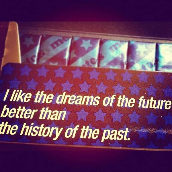 Politicians Wall Art - Photograph - Dreams Of The Future by Jonell Witkowski