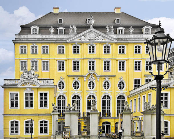 Mistress Photograph - Dresden Taschenberg Palace - Celebrate Love While It Lasts by Christine Till
