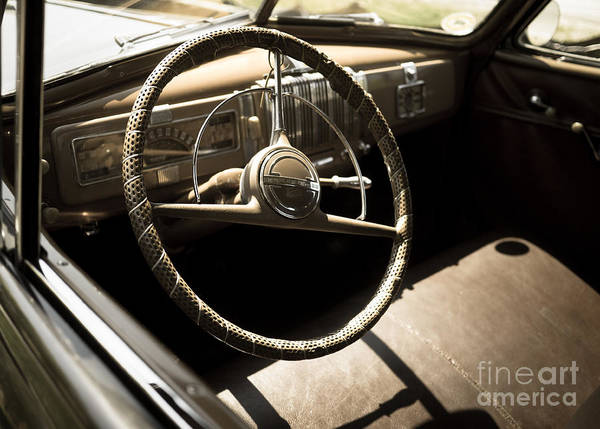 Photograph - Driver's Seat by Edward Fielding