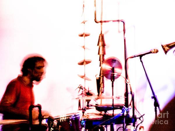 Photograph - Droid - Drums Amir Ziv by Jim DeLillo
