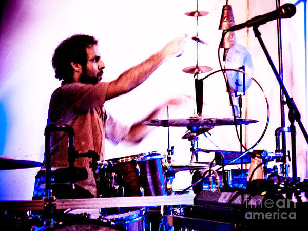 Photograph - Droid In Concert Amir Ziv by Jim DeLillo