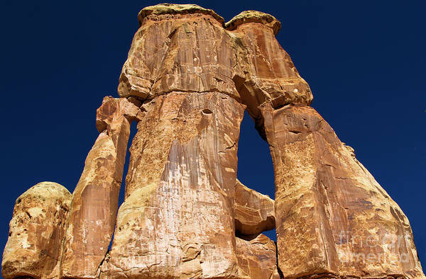 Photograph - Druid Arch In The Needles District Of Canyonlands by Adam Jewell