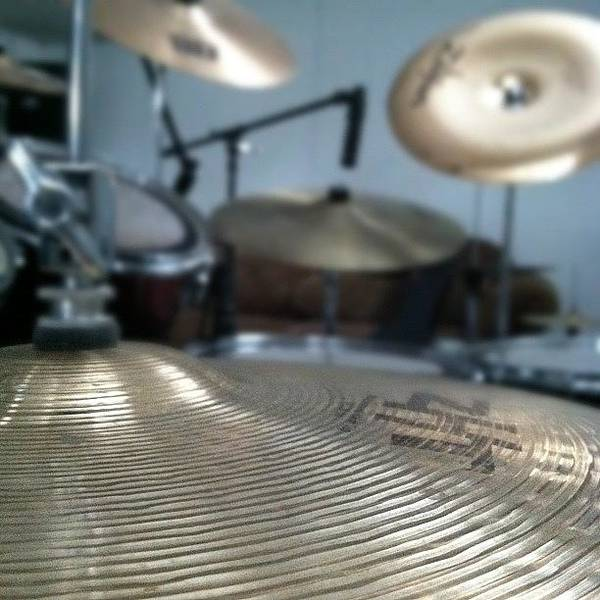 Jazz Wall Art - Photograph - #drums #music #zilgian #sabian #b8 #zht by Anthony Sclafani