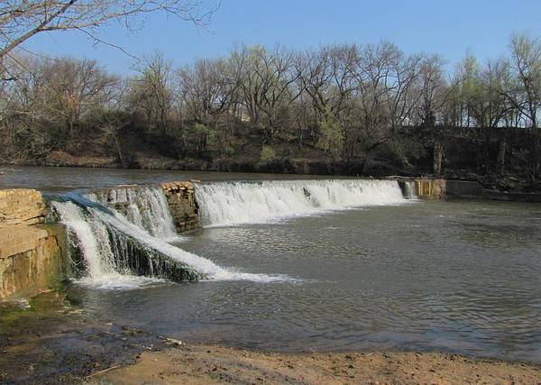 Photograph - Drury Dam Waterfall  by Keith Stokes