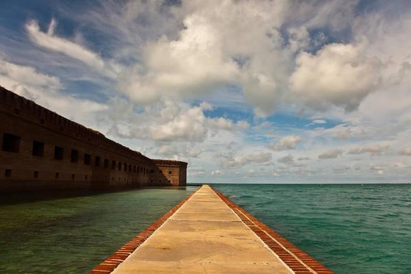 Wall Art - Photograph - Dry Tortugas Sea Wall by Patrick  Flynn