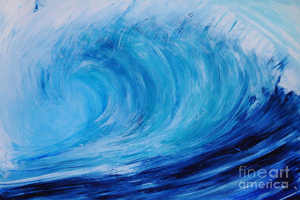 Painting - Drywave by Shelley Myers