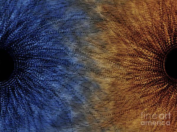 Merge Digital Art - Duality Motif by Vlad Gerasimov