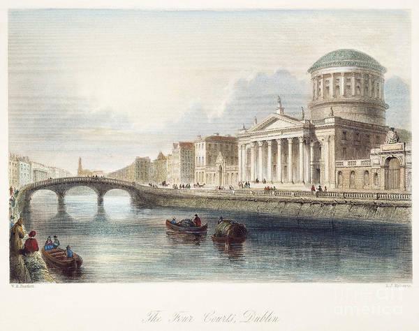 Photograph - Dublin, 1842 by Granger