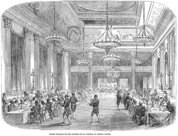 Photograph - Dublin Castle, 1857 by Granger