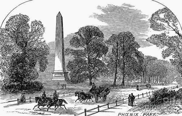 Photograph - Dublin: Phoenix Park, 1878 by Granger