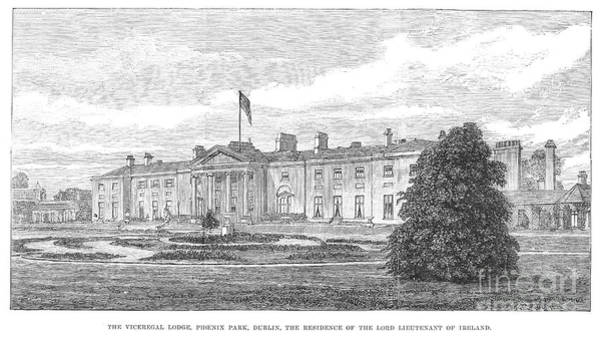 Photograph - Dublin: Viceregal Lodge by Granger