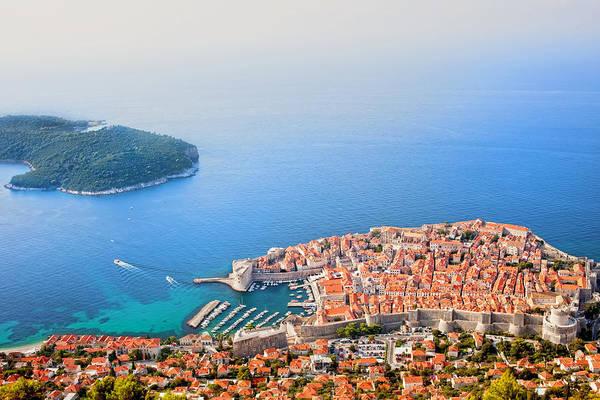 Dubrovnik Aerial View Art Print