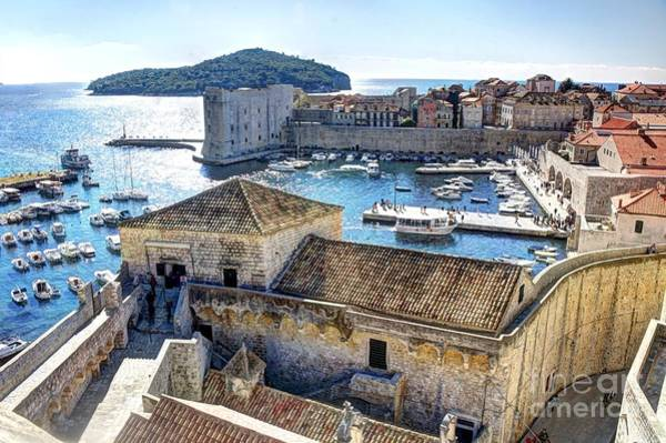 Photograph - Dubrovnik Harbor by Crystal Nederman