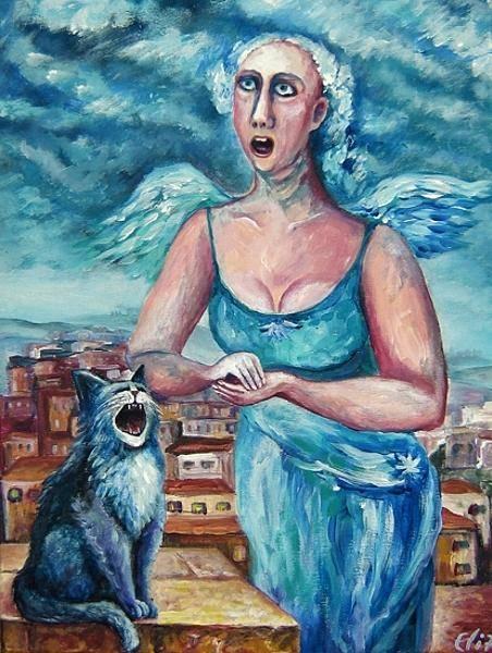 Merge Painting - Duet by Elisheva Nesis