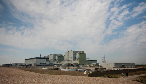 Wall Art - Photograph - Dungeness Power Station by Dawn OConnor
