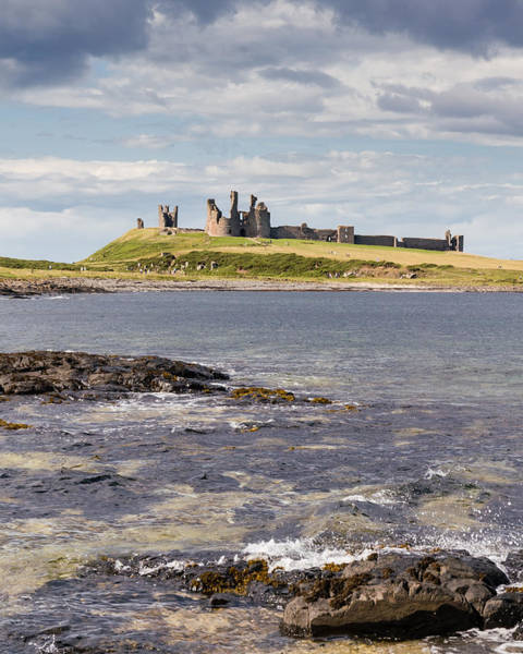 Photograph - Dunstanburgh Castle by David Nicholls