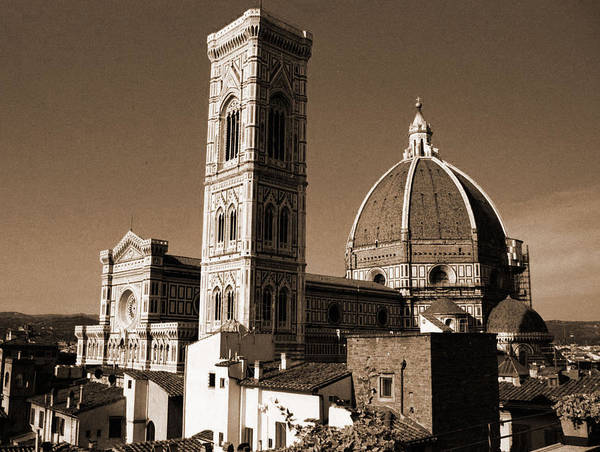 Photograph - Duomo And Campanile Of Florence by Donna Corless