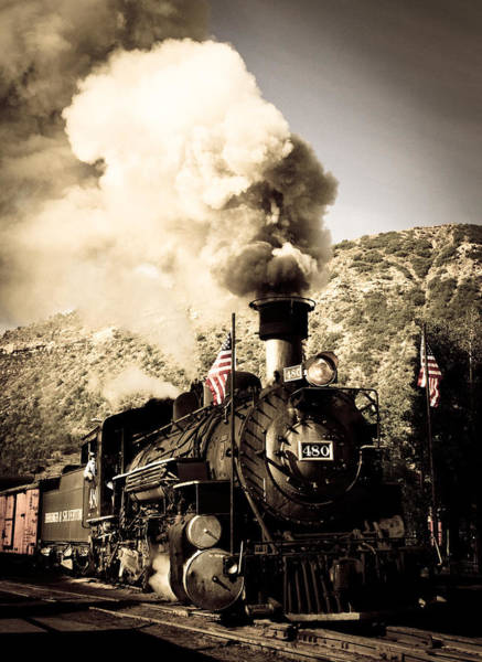 Photograph - Durango - Silverton Railroad by Adam Pender