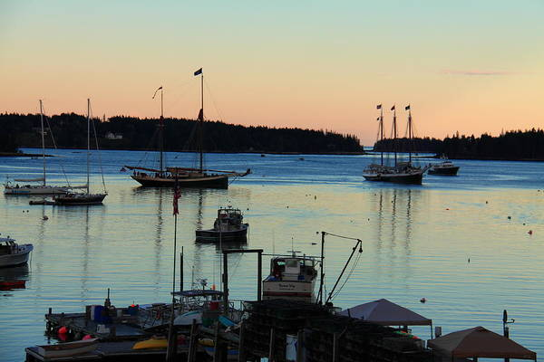 Photograph - Dusk At Burnt Coat Harbor by Doug Mills
