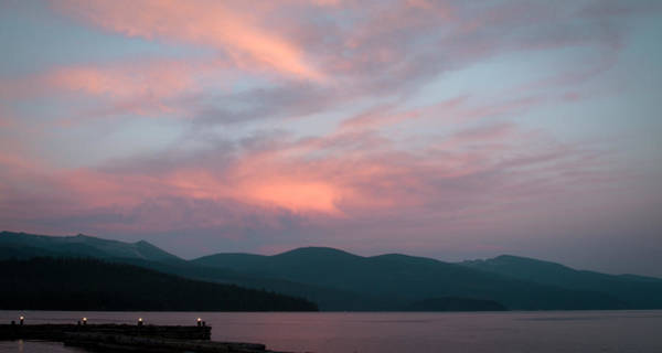 Photograph - Dusk At Priest Lake by David Patterson