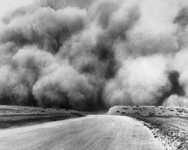 Photograph - Dust Bowl, 1935 by Granger