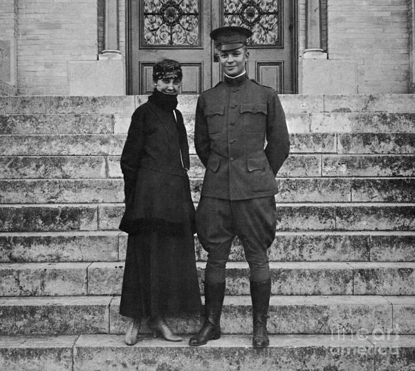 Photograph - Dwight D. Eisenhower, 1916 by Granger