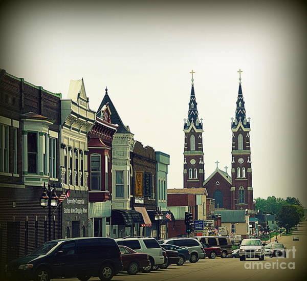 Wall Art - Photograph - Dyersville In Iowa by Susanne Van Hulst