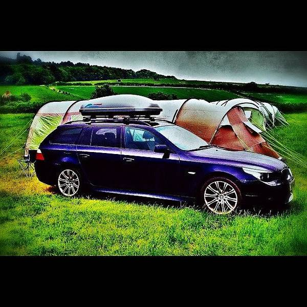 Bmw Photograph - #e61 #bmw #msporttouring #camping by Mark  Thornton