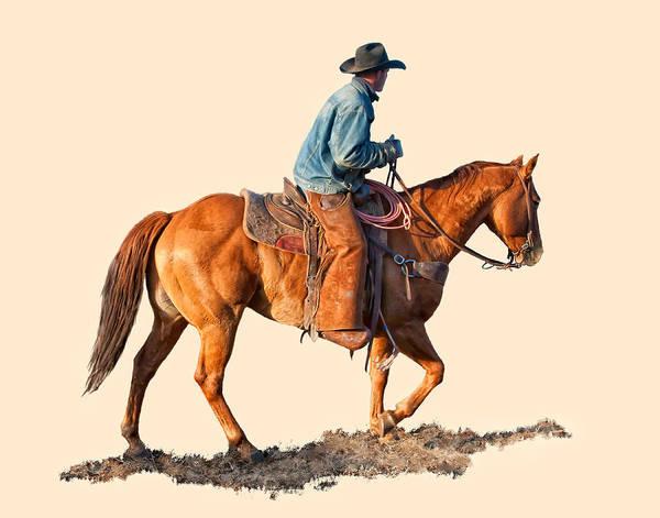 Ranch Digital Art - Early Morning by Dewain Maney