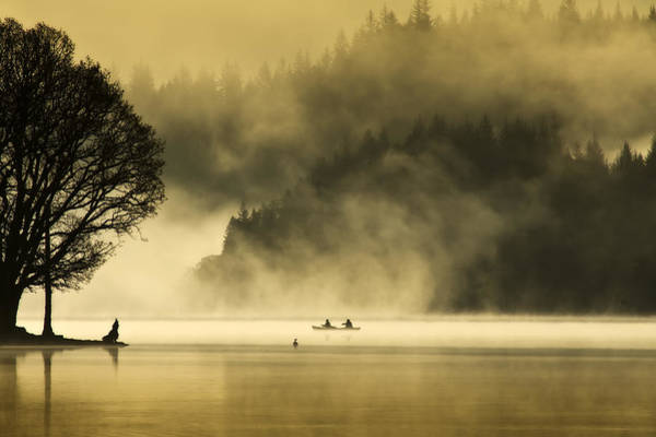 Wall Art - Photograph - Early Morning  Loch Ard by David Mould