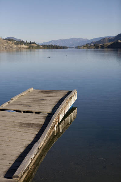 Kelowna Wall Art - Photograph - Early Morning On A Clear Summer Day by Taylor S. Kennedy