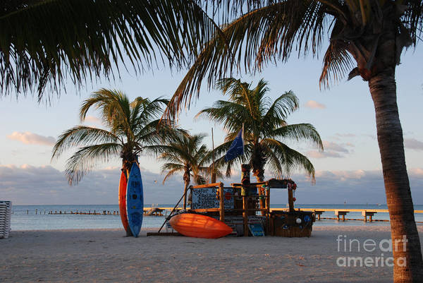Photograph - Early Morning Peace In Key West by Susanne Van Hulst