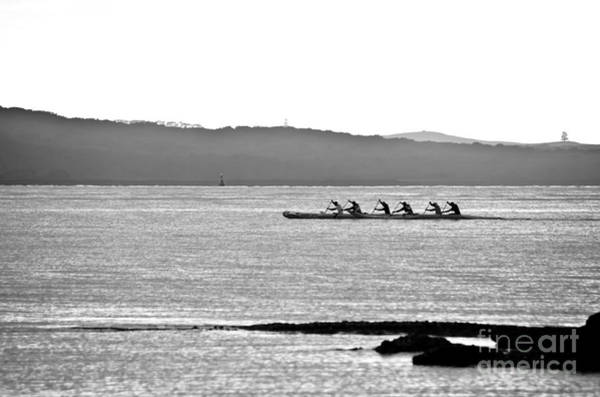 Devonport Wall Art - Photograph - Early Morning Rowing by Yurix Sardinelly