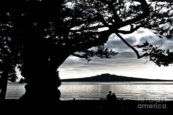 Devonport Wall Art - Photograph - Early Morning Volcano And The Lovers by Yurix Sardinelly