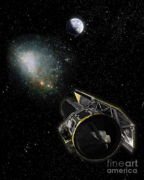 Cosmology Digital Art - Earth, A Milky Way Object by Stocktrek Images