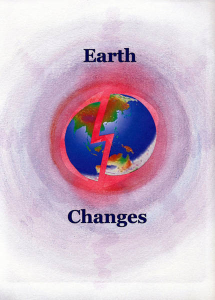 Painting - Earth Changes by Ahonu