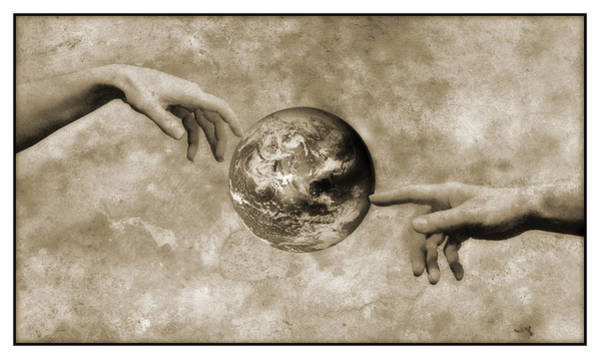 Creationist Wall Art - Photograph - Earth's Creation by Detlev Van Ravenswaay