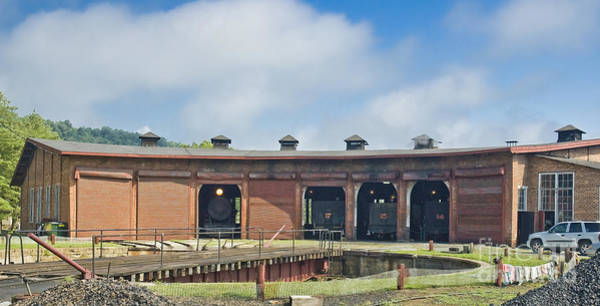 Photograph - East Broad Top Roundhouse by Tim Mulina
