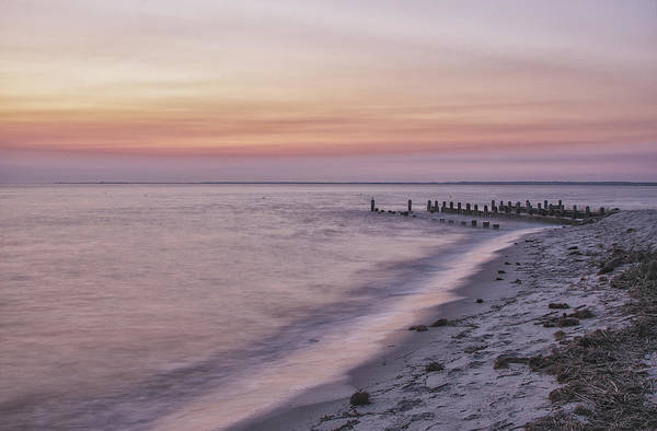 Photograph - East Point Afterglow by Tom Singleton