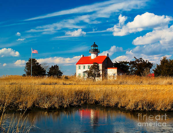 Photograph - East Point Lighthouse Reflection by Nick Zelinsky