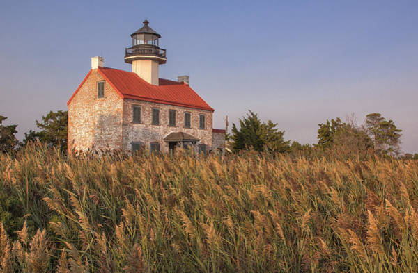 Photograph - East Point Lighthouse by Tom Singleton