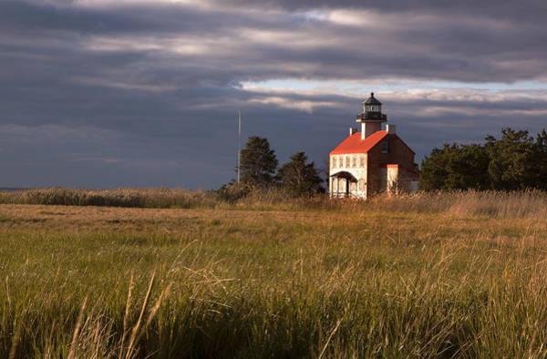 Photograph - East Point Lighting by Tom Singleton