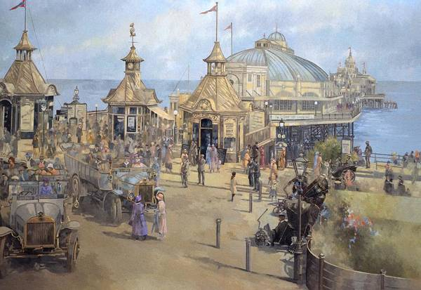 Dome Painting - Eastbourne by Peter Miller